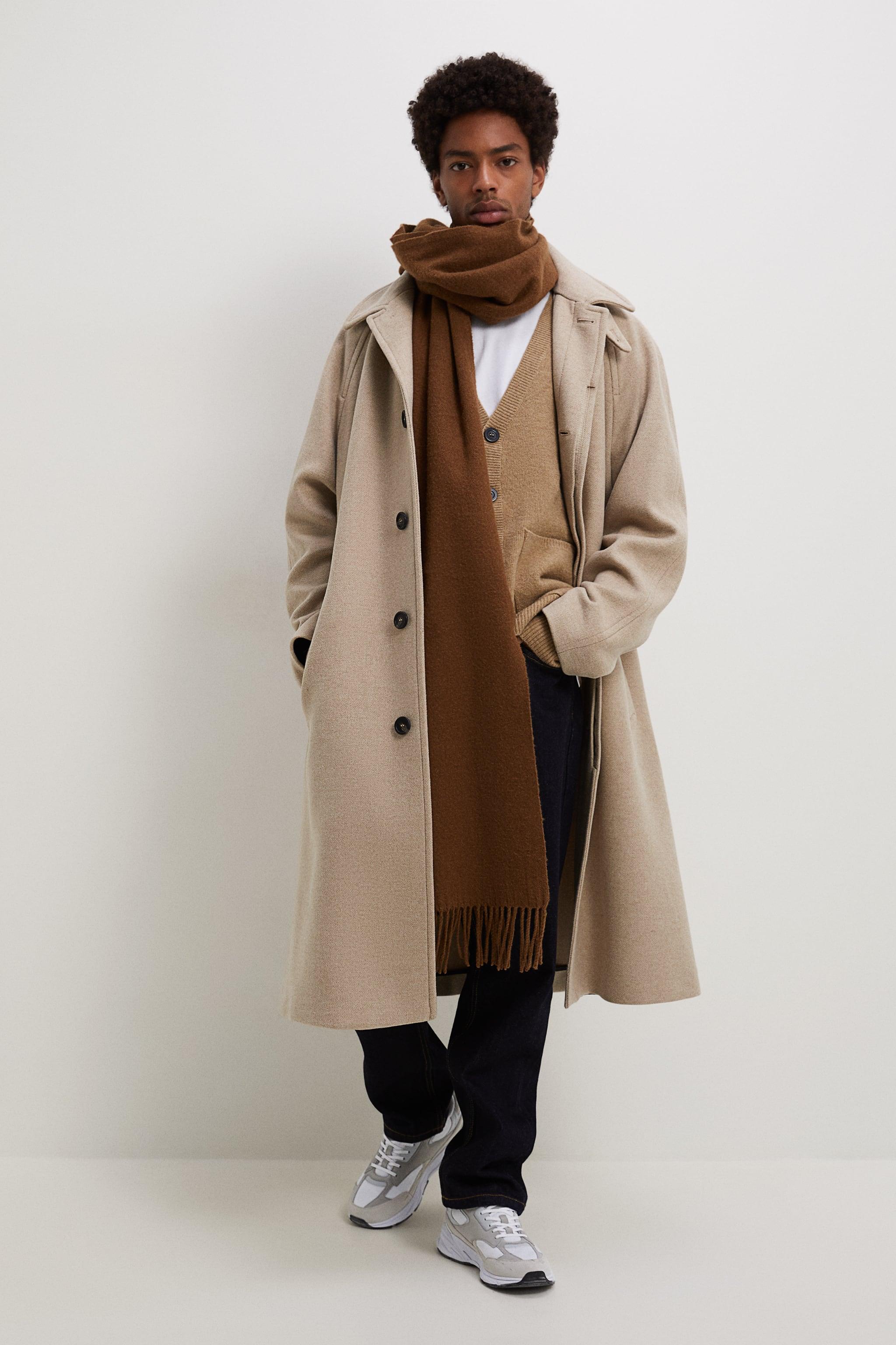 Zara TEXTURED WEAVE COAT