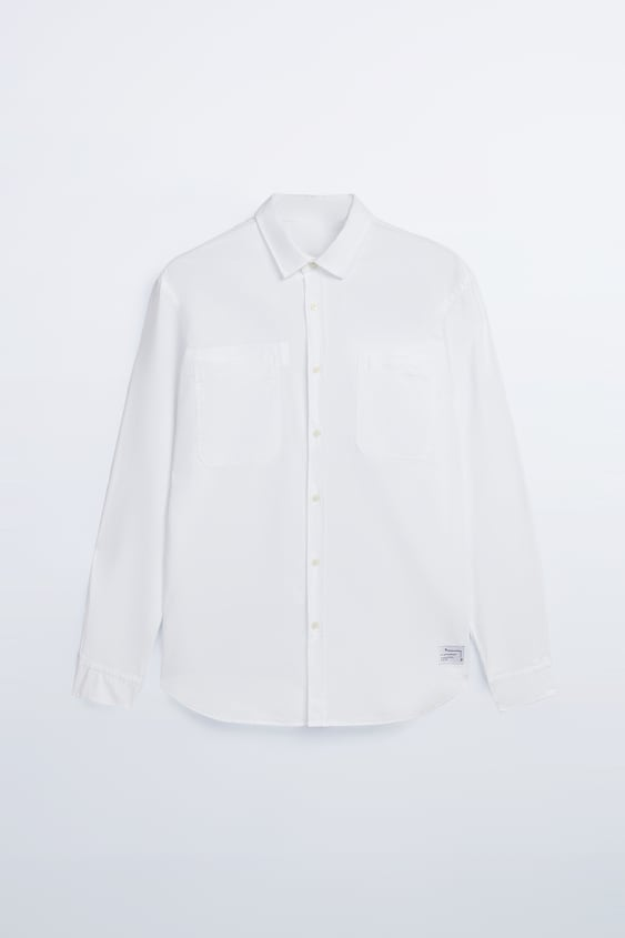 STRUCTURED SHIRT WITH POCKETS