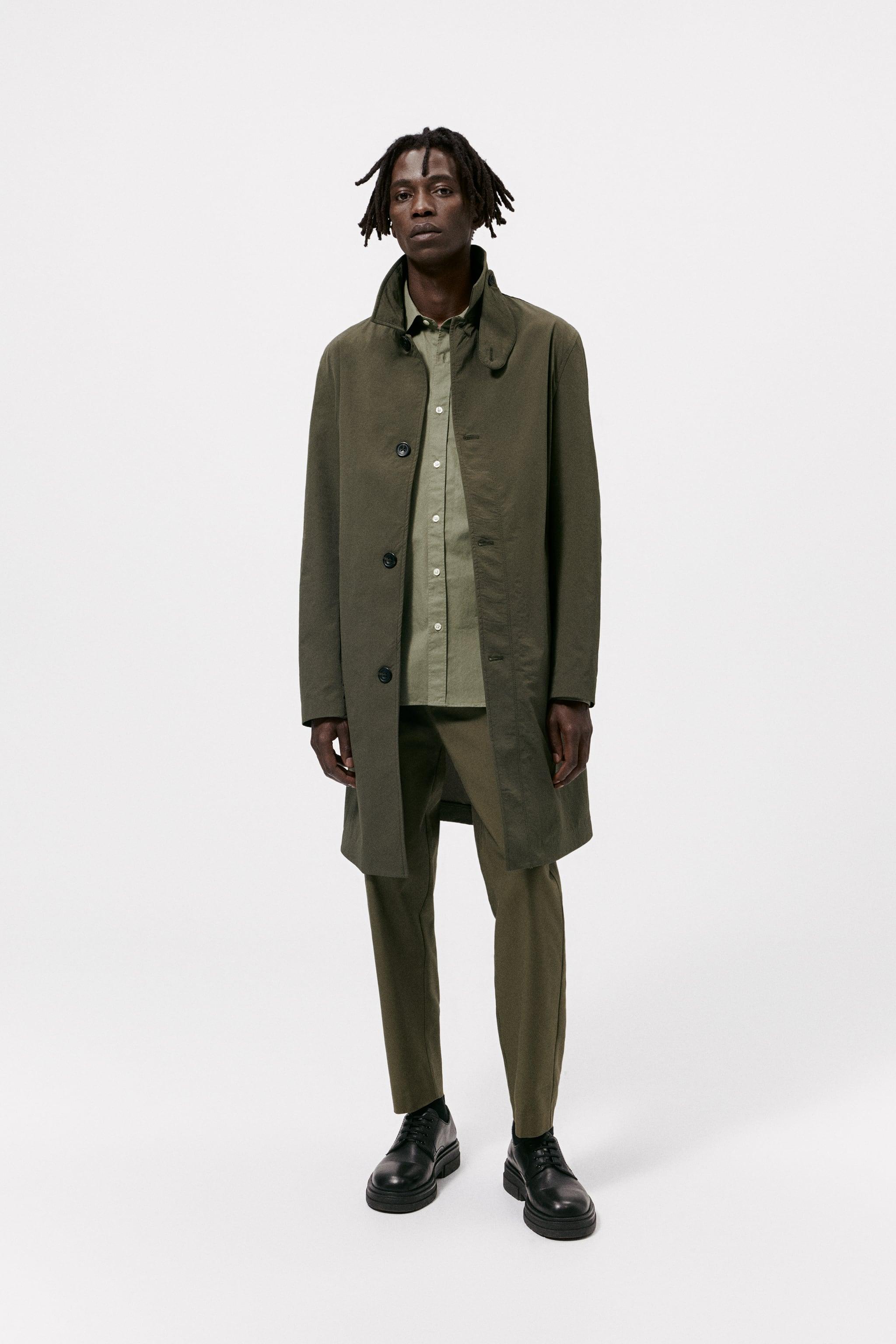 Zara TECHNICAL TRENCH COAT
