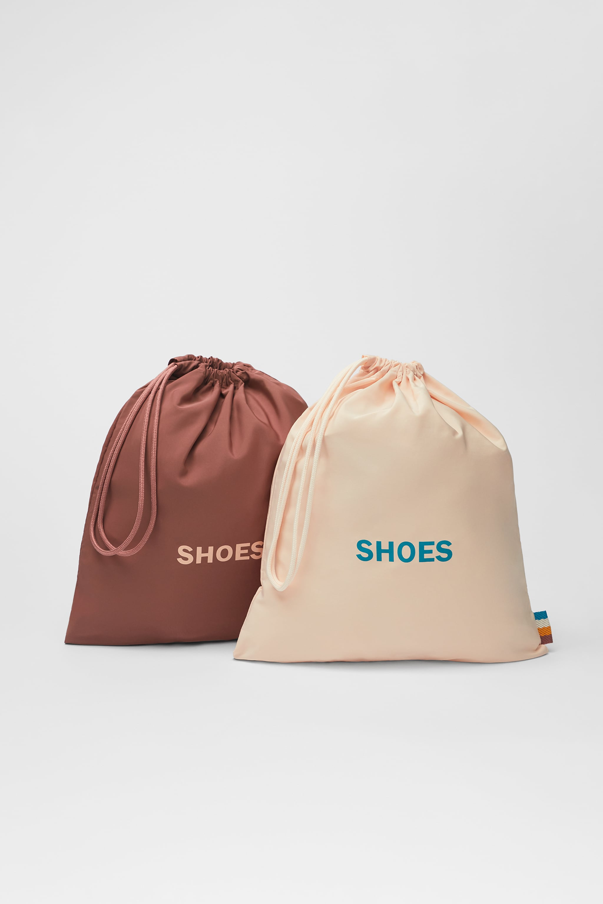 Zara TWO PACK OF SHOE TRAVEL BAGS