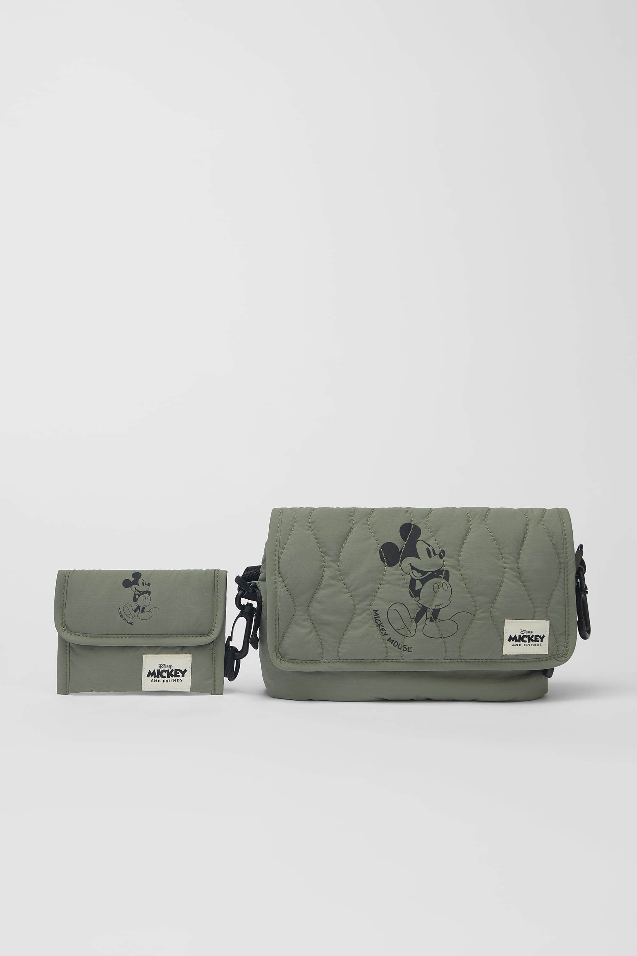 Zara MICKEY MOUSE ⓒDISNEY QUILTED CROSSBODY BAG