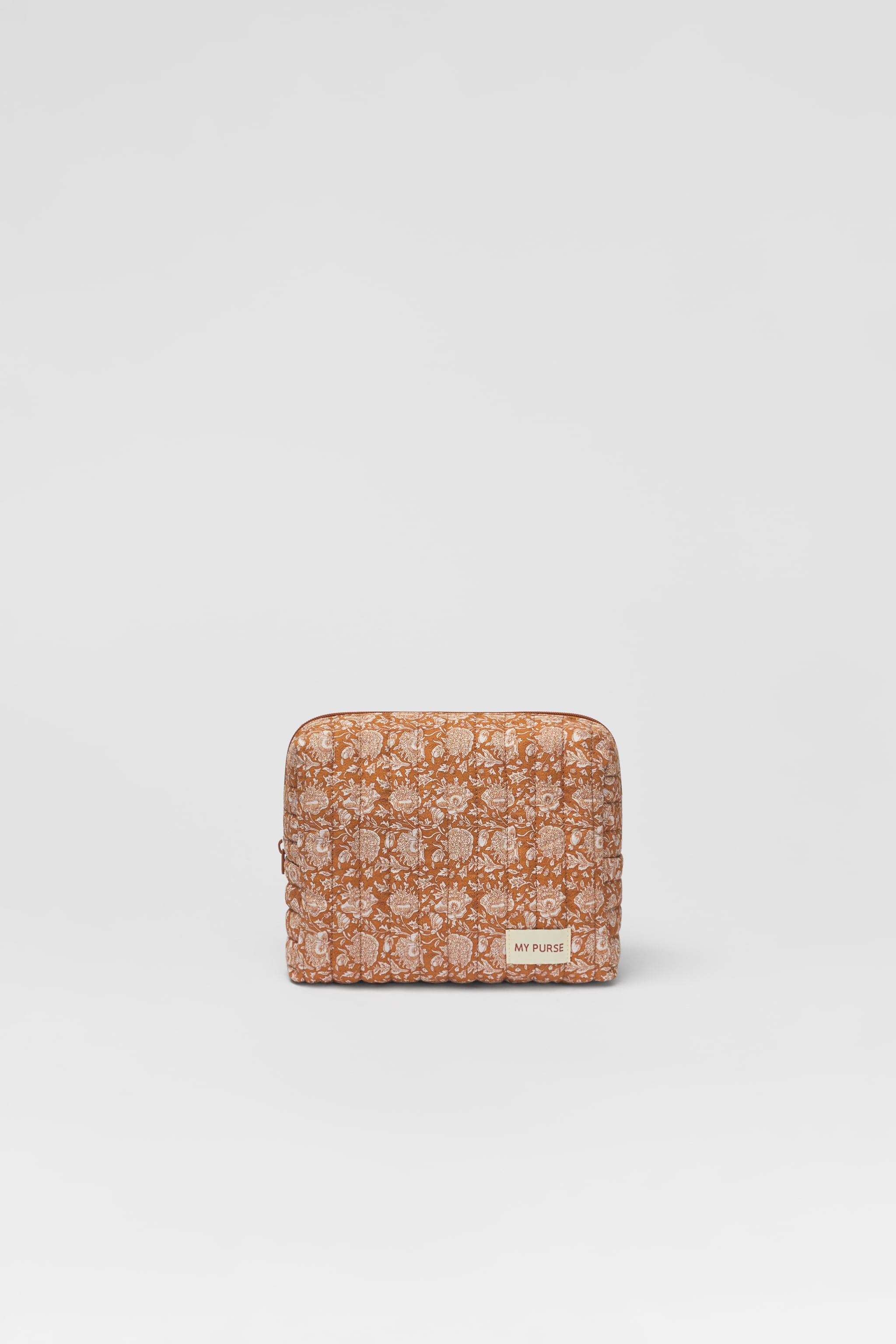 Zara QUILTED TOILETRY BAG