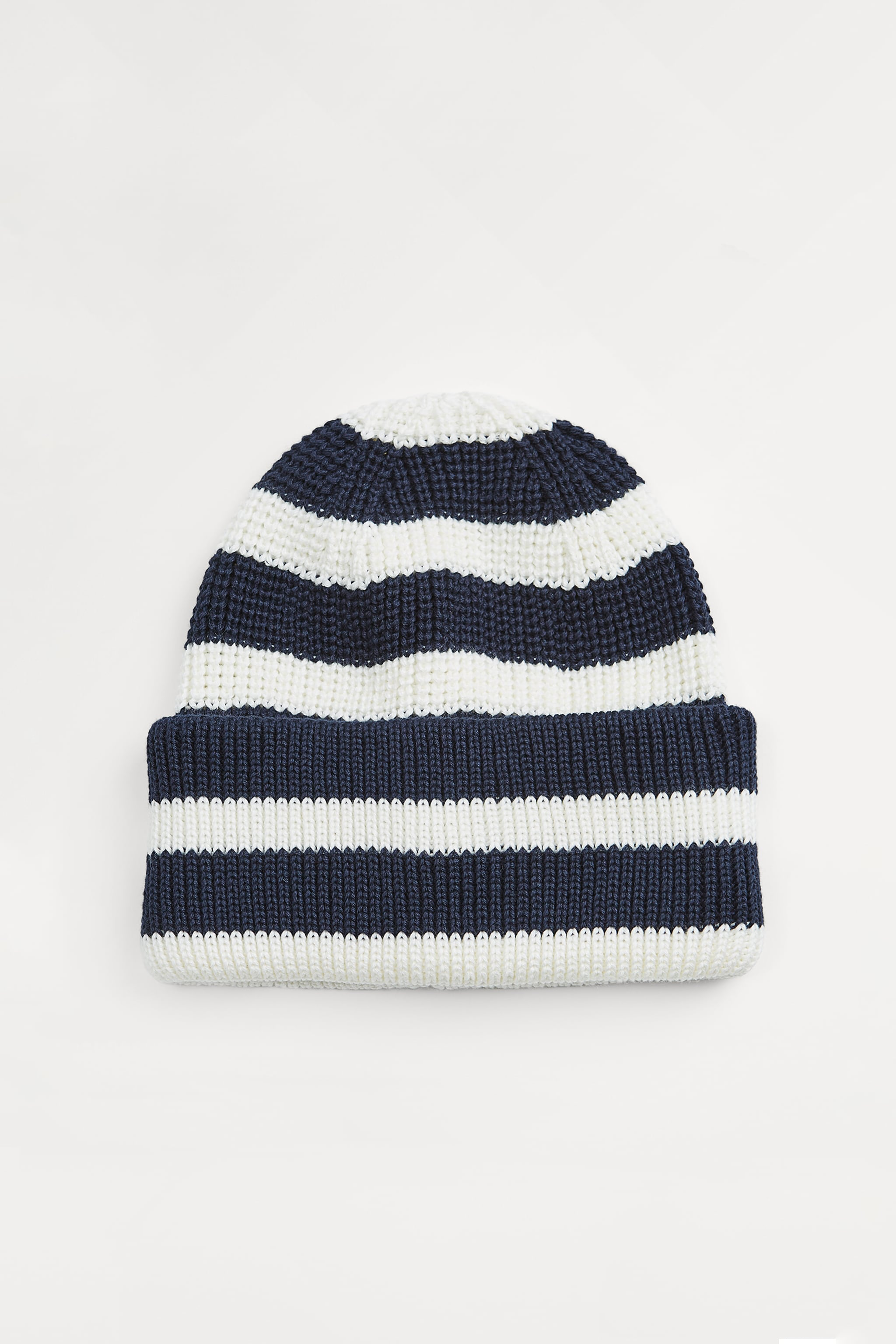 Zara STRIPED KNIT HAT