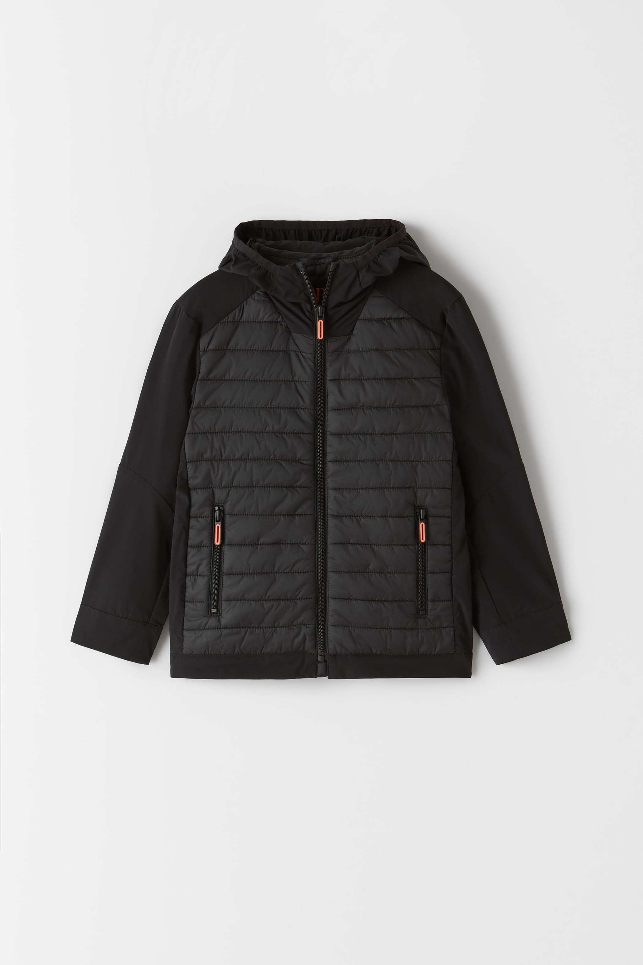 Zara COMBINATION STRETCHY ATHLETIC JACKET