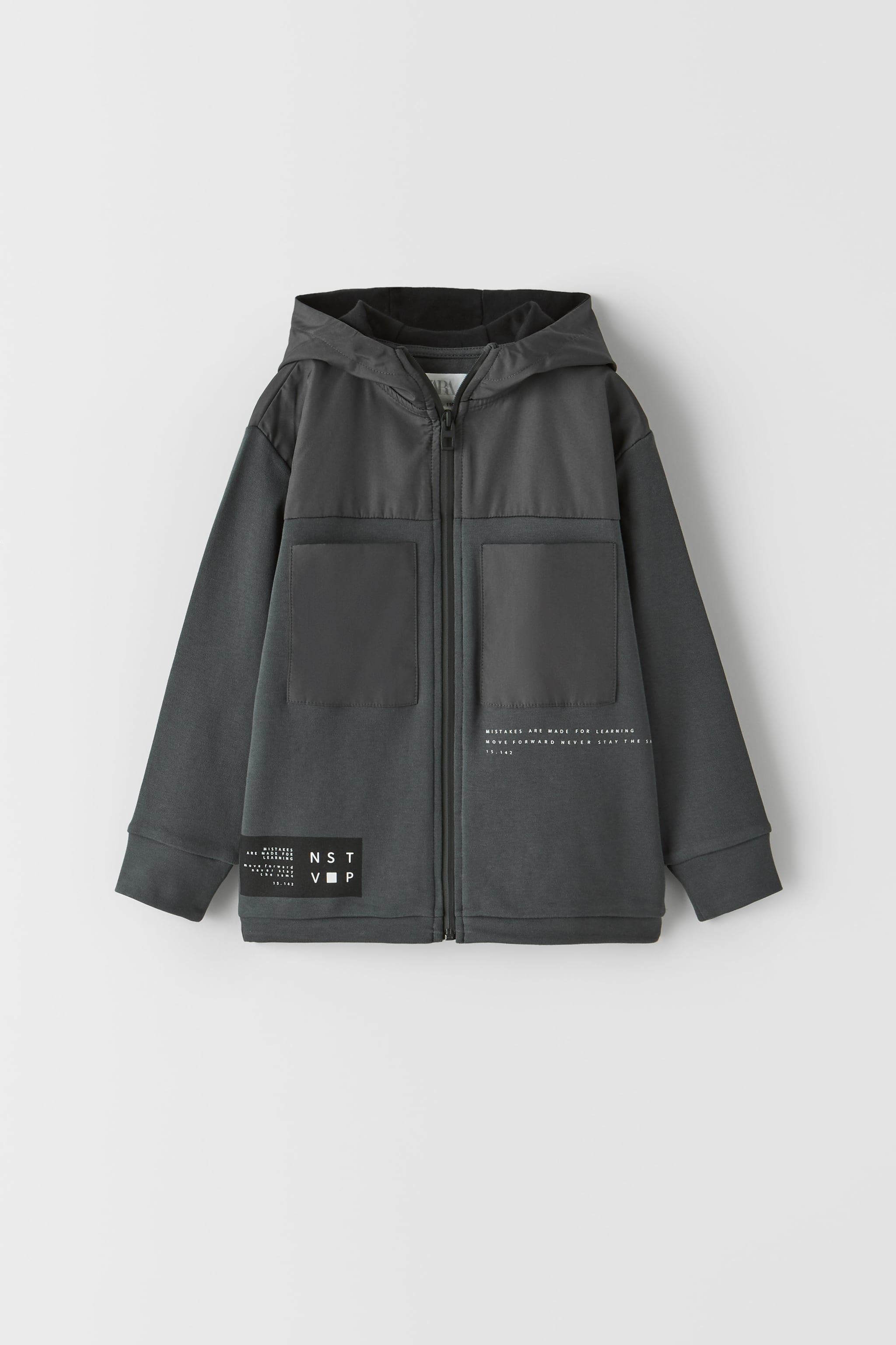 Zara COMBINATION SPORTY JACKET