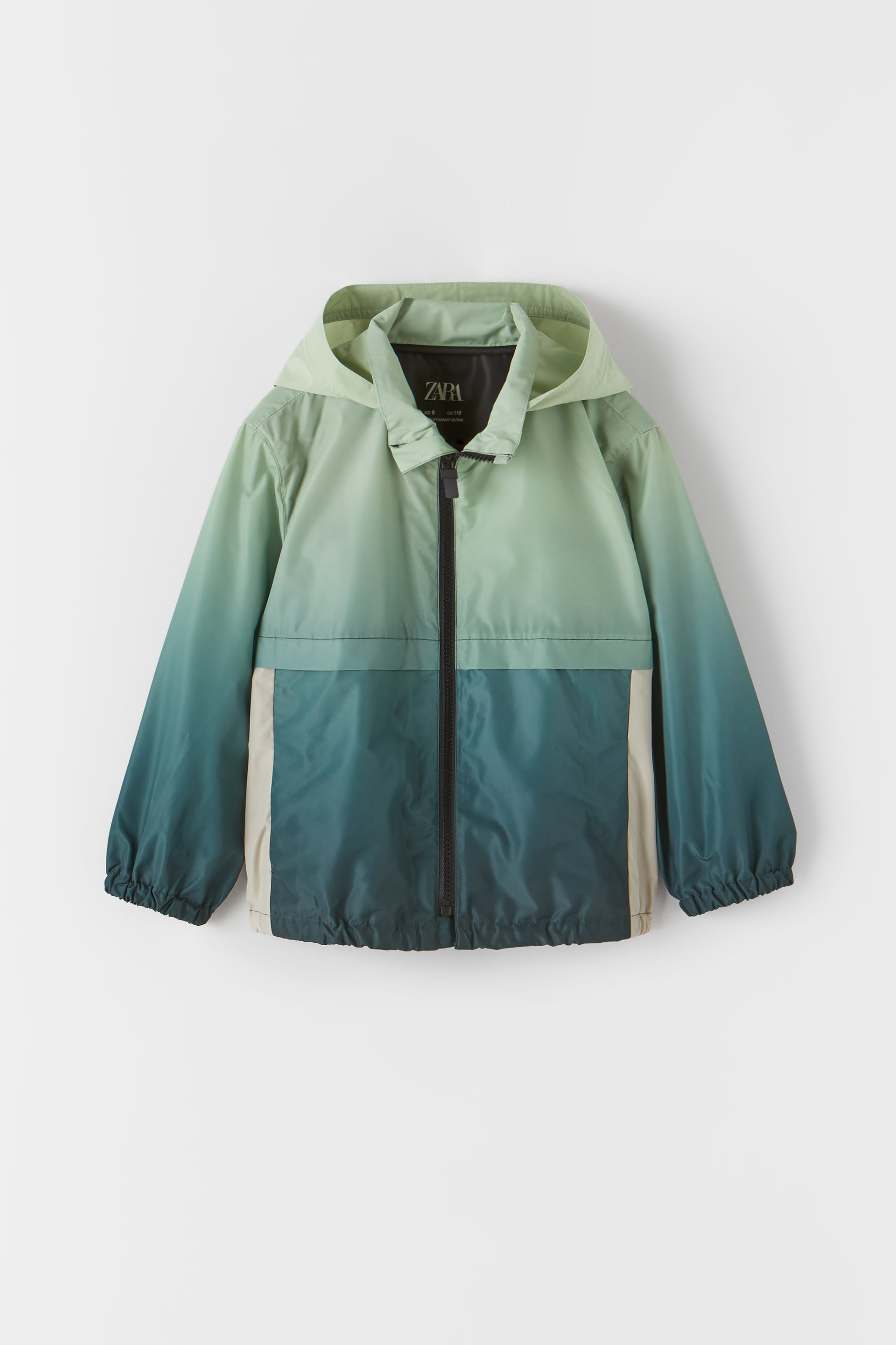 Zara LIGHTWEIGHT OMBRE RAINCOAT
