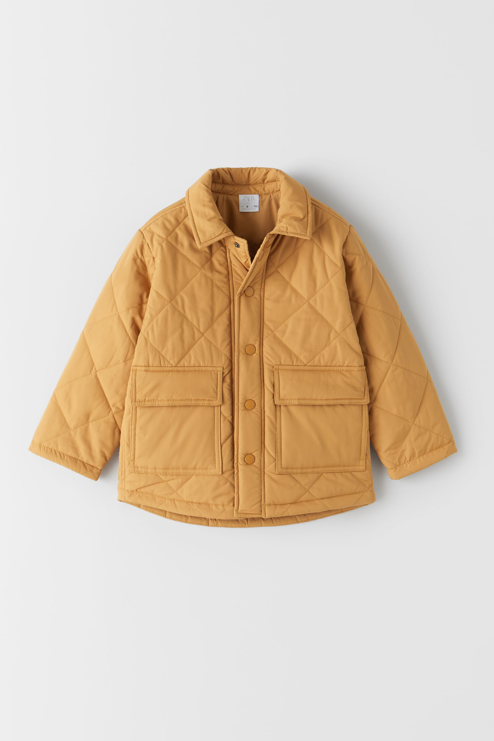 Zara POCKETS PUFFER JACKET