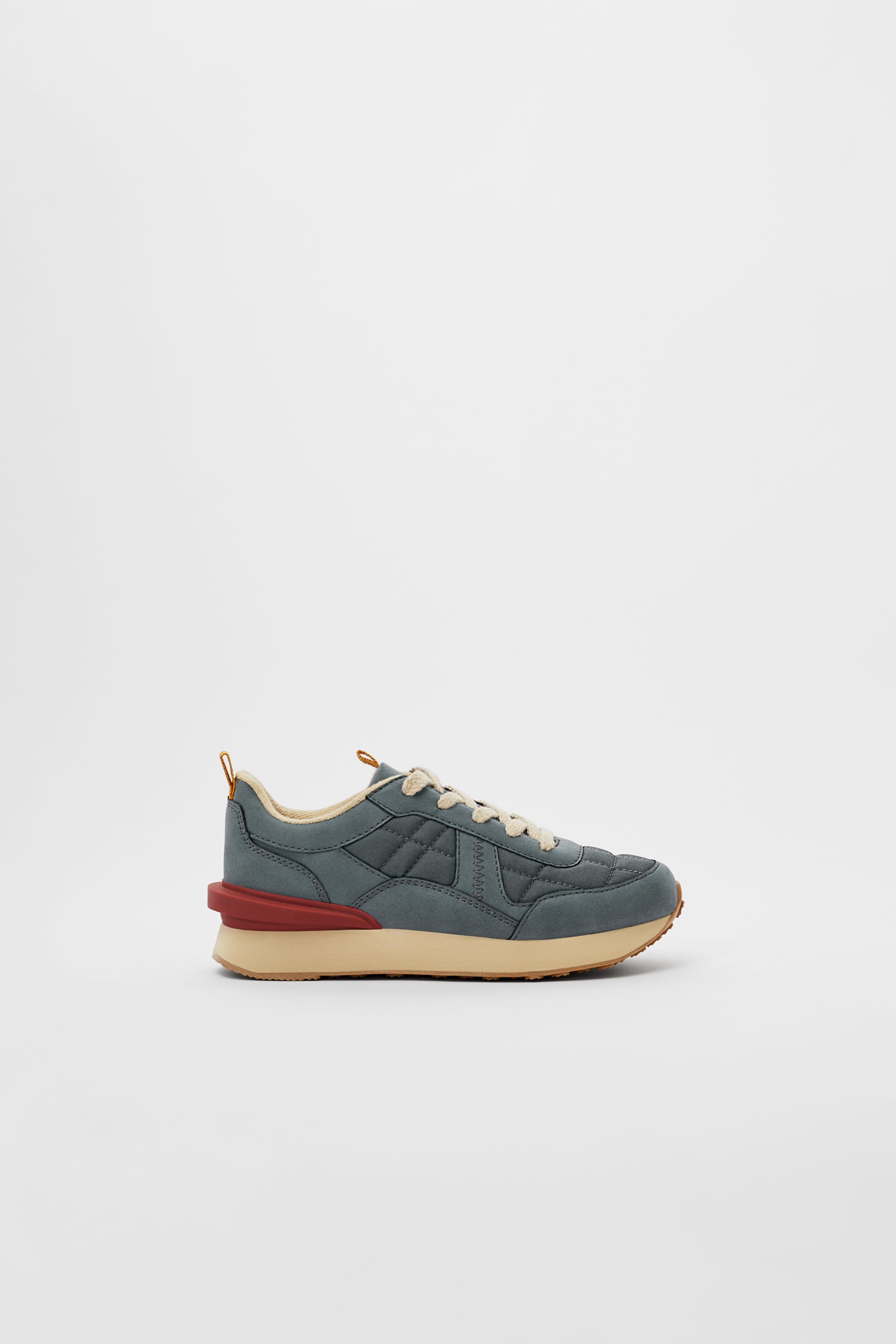 Zara QUILTED DETAIL SNEAKERS